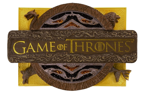 Game Of Thrones Coin Door Applique