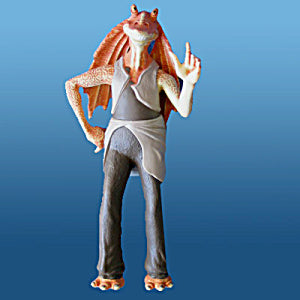 "Star Wars Playfield Character ""Jar Jar Binks"""