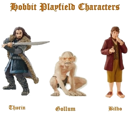 Hobbit Playfield Characters