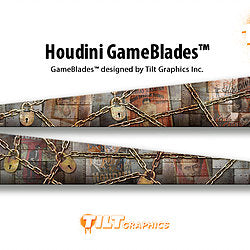 "Houdini GameBlades™ ""Steam Punk"""