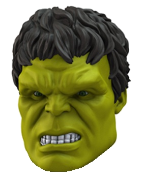 "Avengers Character Head Shooter ""Hulk"" Age of Ultron"