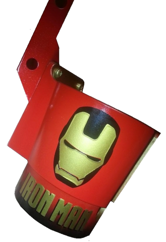 Iron Man PinCup Gold Face