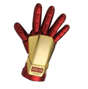 Iron Man Playfield Metal Glove