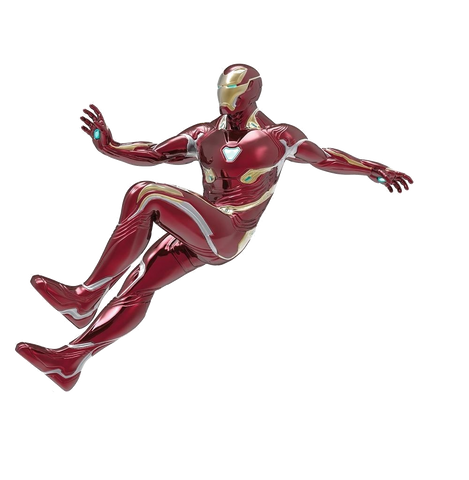Iron Man Playfield Character Floating