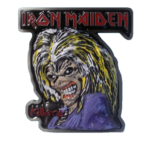 Iron Maiden Coin Door Plaque