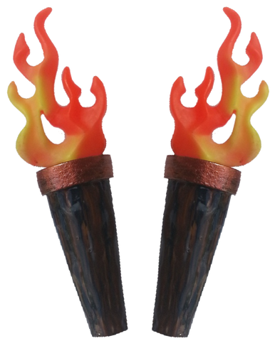 Iron Maiden Flame Torches