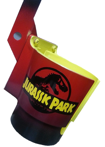 "Jurassic Park PinCup ""Red/Yellow"""