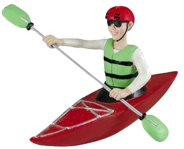 "White Water Playfield Kayak ""Red"""