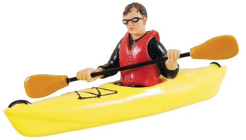 "White Water Playfield Kayak ""Yellow"""