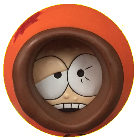 "South Park ""Kenny"" Character Head Shooter"