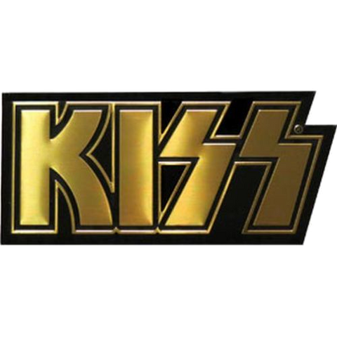 KISS Apron Decal Gold