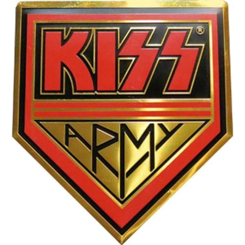 KISS Army Coindoor/Apron Decal