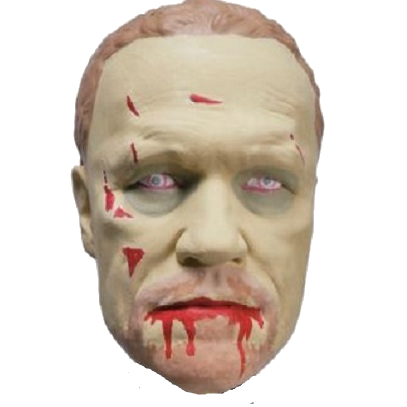 "Walking Dead ""Merle"" Character Head Shooter"