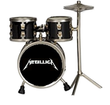 Metallica Playfield Drum Set Black