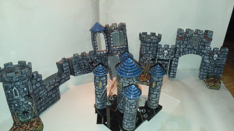 Medieval Madness Custom Painted Castle