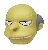 "The Simpsons ""Mr.Burns"" Character Head Shooter"
