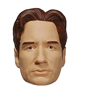 "X Files ""Muldner"" Character Head Shooter"