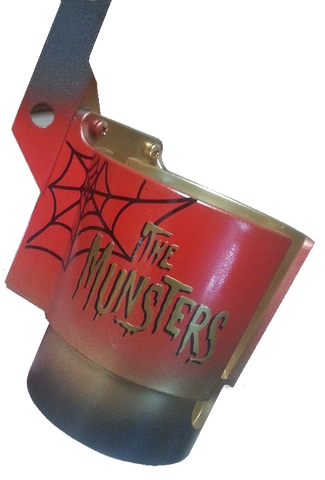 Munsters PinCup LE Gold logo