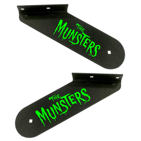 Munsters Hinge Decals Green