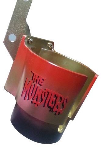 Munsters PinCup LE Red logo