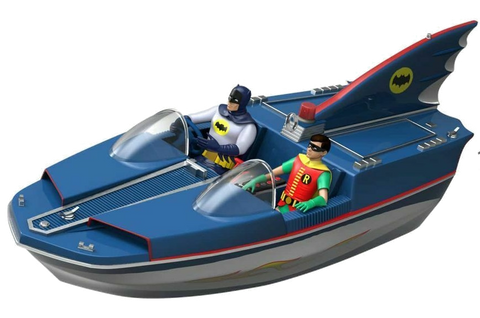 Batman 66 Bat Boat Premium
