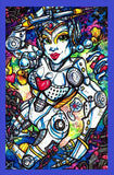BRIDE OF PINBOT Framed Gameroom Art