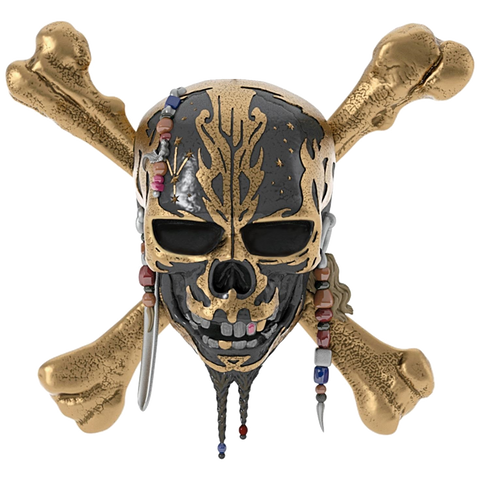 Pirates of the Caribbean Playfield Character Skull with bones