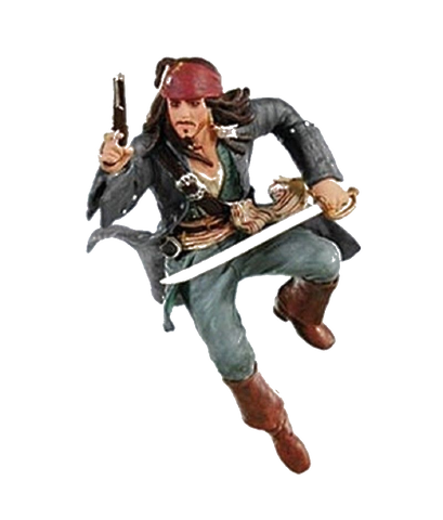 Pirates of the Caribbean Playfield Jack Sparrow Flying
