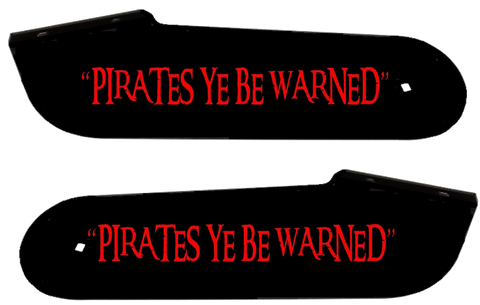 Pirates of the Carribean Hinge Decals