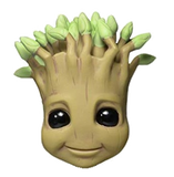"Gardians of the Galaxy Character Head Shooter ""Potted Groot"""