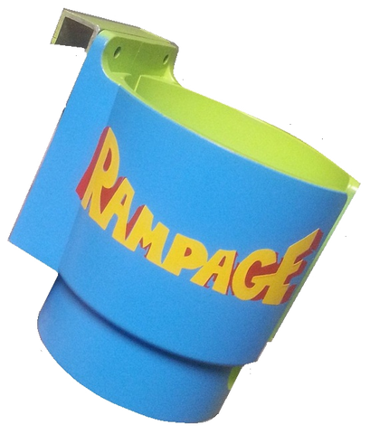 Arcade 1up Custom PinCup Rampage