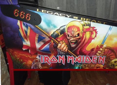 Iron Maiden Side Rail Decals
