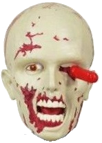 "Walking Dead ""RV Walker"" Character Head Shooter"