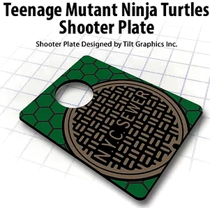 "Teenage Mutant Ninja Turtles Shooter Plate ""NYC Sewer"""