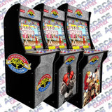 Arcade 1up Street Fighter 2 Kickplate Set Ryu Fists