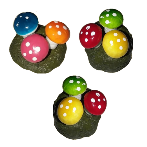 Willy Wonka Mushroom Clusters (set of 3 clusters)
