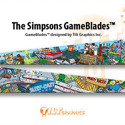 "The Simpsons Pinball GameBlades™ ""City Scape"""