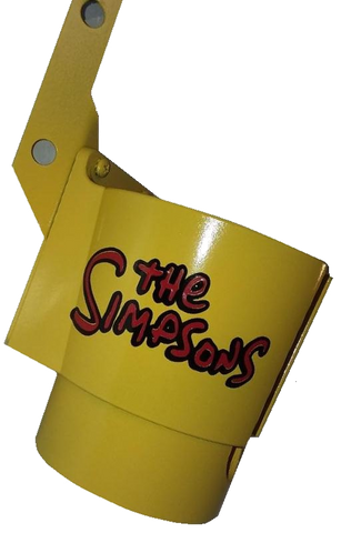 The Simpsons PinCup Yellow