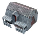 The Walking Dead Custom Painted Barn