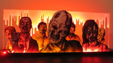 The Walking Dead Pinball Machine Topper