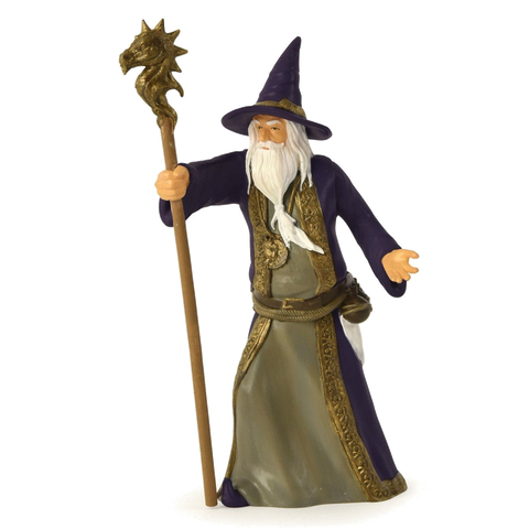 "Medieval Madness Playfield Character ""Wizard"""