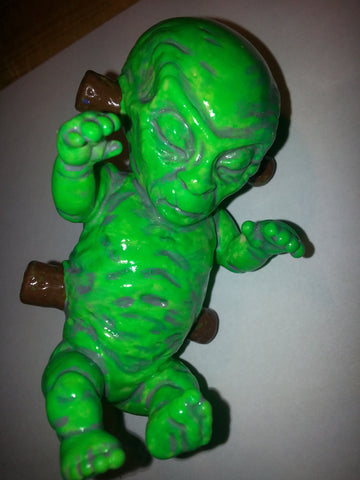 X Files Custom Painted Alien