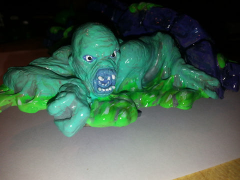 X Files Custom Painted Creature