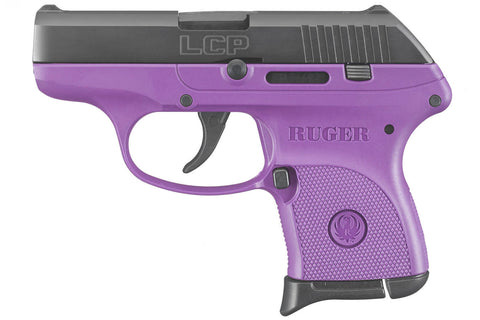 NEW Ruger LCP .380 PURPLE