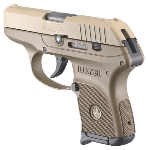 NEW Ruger LCP .380 FDE (flat dark earth)