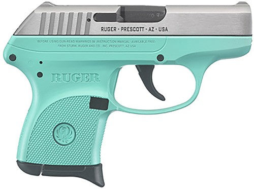 NEW Ruger LCP .380 Turquoise/SS
