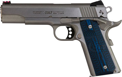 NEW Colt Government Competition 9mm Stainless Steel