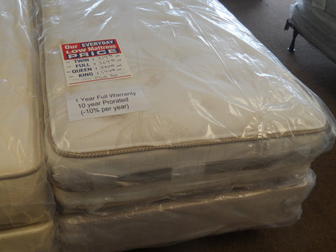 Ortho Support 3000 Plush MATTRESS SET (New Manufactured )