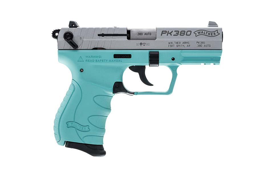 NEW Walther PK380 .380 Angel Blue