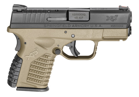 "NEW Springfield XDS .40cal 3.3"" brl FDE( flat dark earth)"